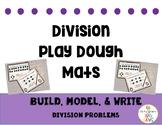 Division play dough mat pack
