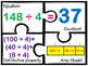 Division with distributive Property Area model 3 digit dividend properties