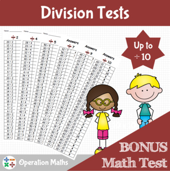 Division Tests up to divided by 10