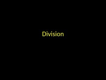 Division three digit numbers visualization