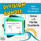 Division using Partial Quotients BUNDLE