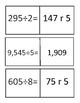 Division using partial quotient method
