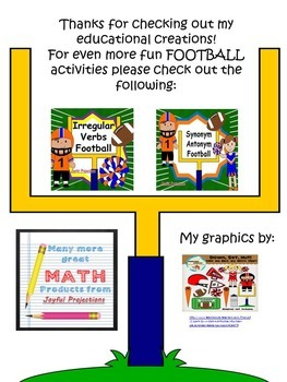 Division w/ Remainders -Super Football Math