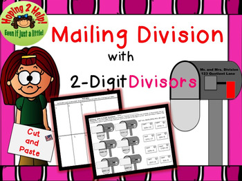 Division with 2-Digit Divisors and Multi-Digit Dividends - Valentine's Day