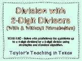 Division with 2-digit Divisors (TEKS 5.3A, 5.3C)