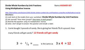 Division with Fractions