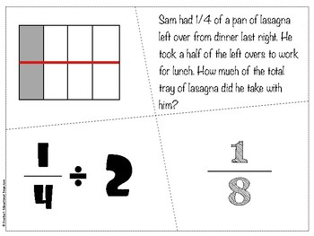 Division with Fractions BUNDLE