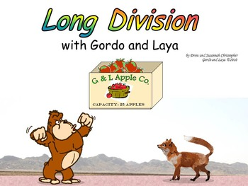 Long Division with Gordo and Laya