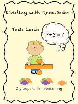 Division with Remainders Lesson Packet