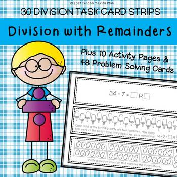 Division With Remainders Word Problems Teaching Resources | Teachers ...