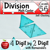 Division with Remainders Four Digit by Two Digit
