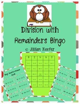 Division with Remainders BINGO!