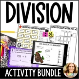 Long Division with Remainders BUNDLE