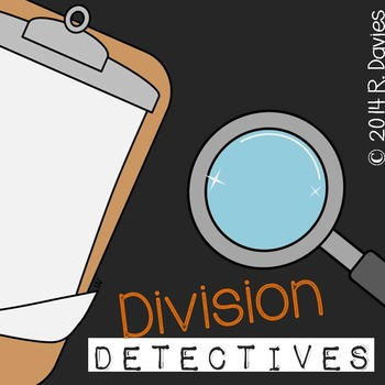 Division with Remainders (Detective Themed)