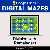 Division with Remainders | Digital Mazes Distance Learning