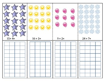 Division with Remainders Foldbook