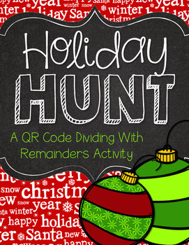 Division with Remainders Holiday Hunt