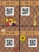 Division with Remainders QR Codes SCOOT! - 2 digit dividends