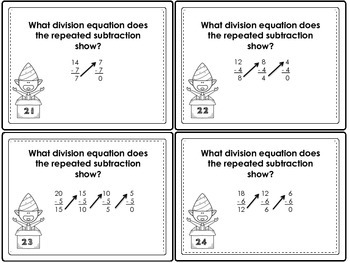 Division with Repeated Subtraction: With and Without Number Lines