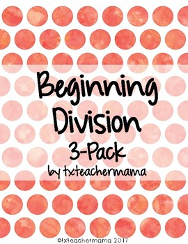 Division 3 Pack including Repeated Subtraction
