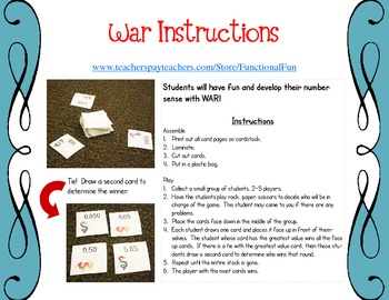 Division with Variables War