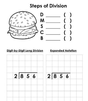 Division with Whole Numbers & Decimals (Aligned to Math Expressions: Grade 5)