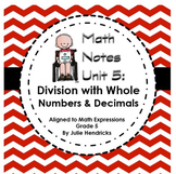 Division with Whole Numbers & Decimals (Aligned to Math Ex