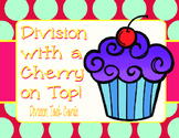 Division with a Cherry on Top- Problem Solving with Division QR Task Cards