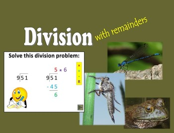 Division with remainders PowerPoint