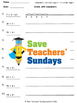 Division with remainders on number lines lesson plans, wor