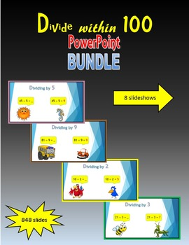 Division within 100 PowerPoint BUNDLE