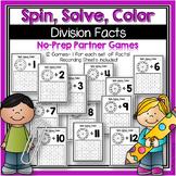 Division Facts NO PREP Partner Games