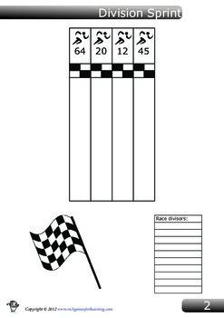 Divisione Game - Division Sprint
