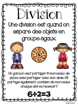 Divisions - 2e année