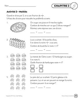 French Math Songs (Division) - Digital MP3 Album Download w Lyrics & Activities