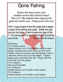 Divison Fact Practice Game