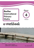 Grade 4 Division Workbook of 48 pages from BeeOne Books
