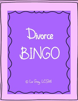 Divorce BINGO