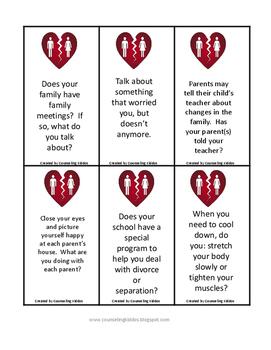 **REVISED**   Divorce Conversation Cards