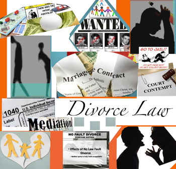 Divorce & Family Law in America - FREE POSTER