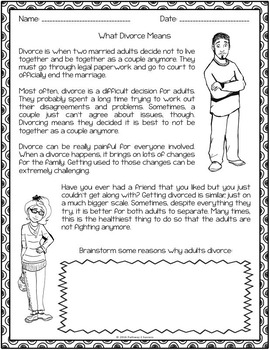 Character education worksheets for preschoolers