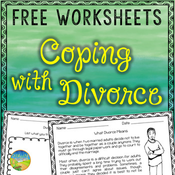 Divorce Workbook Freebie Sampler
