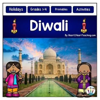 Winter Holidays Around the World: Diwali Activities and Flip Book