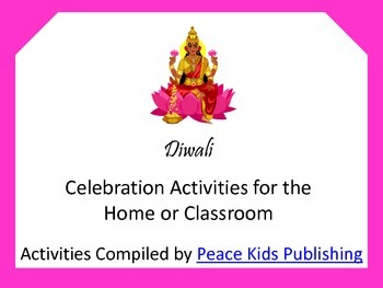 Diwali Celebration Activities for the Home or Classroom