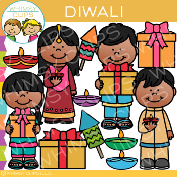Diwali Clip Art {Holidays Around the World Clip Art}