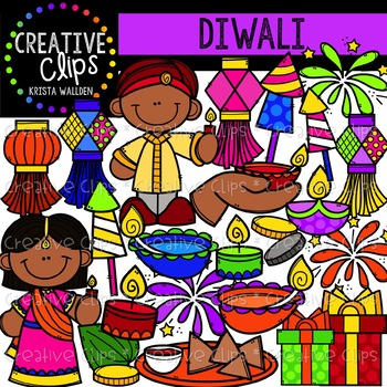 diwali clipart creative clips clipart by krista wallden creative rh teacherspayteachers com diwali clipart free diwali clipart black and white