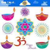 Diwali Clipart. Fireworks Clipart. Diya Clip Art. Om Clipart. Rangoli Clip Art