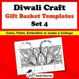 Ancient India, Art Sub Plan, Diwali Craft, Gift Basket Templates, Set 4