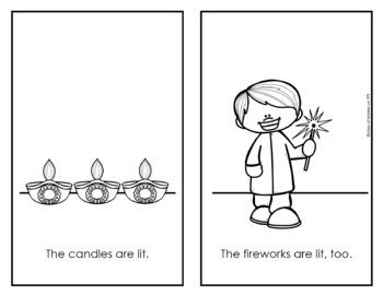 Diwali Emergent Reader {Hindu New Year} Holidays Around the World