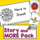 Diwali Emergent Reader and Activities